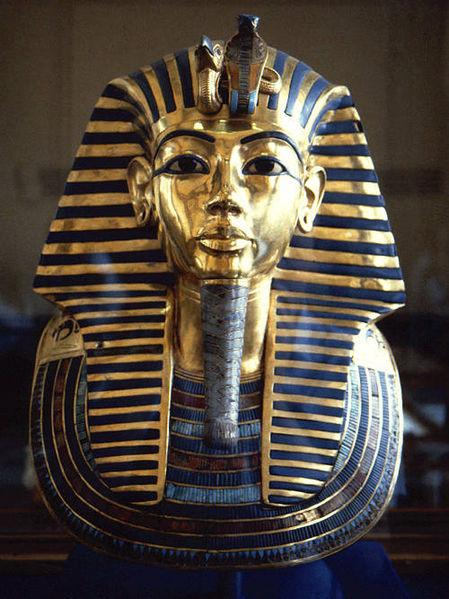 La Máscara funeraria de Tutankamón es una de las piezas más emblemáticas del Muse Egipcio de El Cairo.