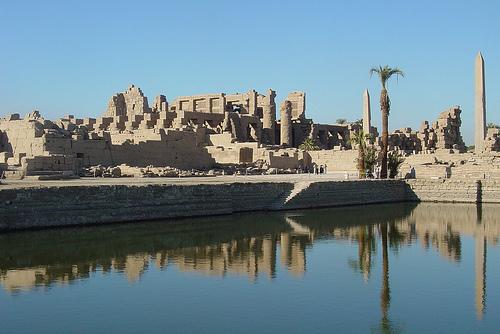 Los Templos de Karnak son uno de los lugares turísticos más importantes de Egipto.