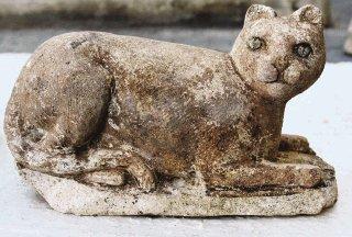 Diosa Bastet descubierta en el templo Ptolemaico.