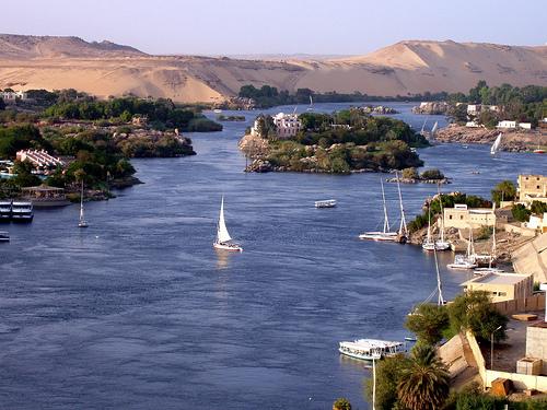 Promoción  viaje a Egipto 2x1 a tan solo 389: vista del rio Nilo.