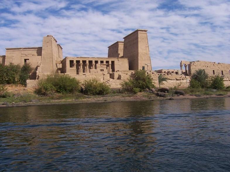 Vista del exterior del museo de Nubia.