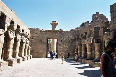 Templo de Opet en Karnak