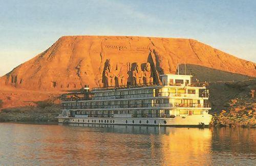 Lago Nasser: Parte del Lago Nubia.